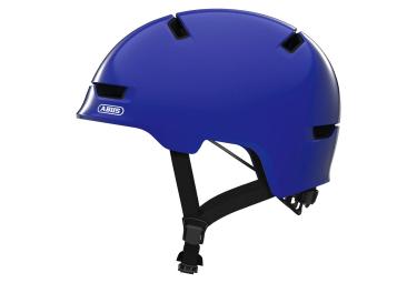 Abus Scraper Kid 3.0 Kid Helmet Shiny Blue