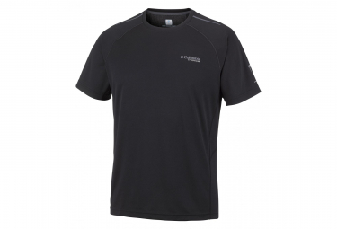 T-Shirt manica corta Columbia Titan Trail nera