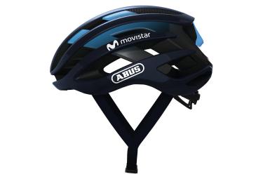 Abus Airbreaker Movistar Team 2018 Road Helmet Blue M  52 58 Cm