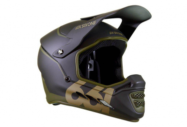661 Full Face Helmet Rest Mips Deep Forest Green / Black Khaki