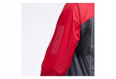 Veste Impermeable Raidlight Top Extreme MP+ Rouge Gris Homme