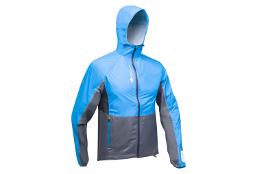 Raidlight Waterproof Jacket Top Extreme MP+ Blue Grey