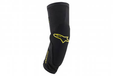 Alpinestars Paragon Plus Knee Protector Black Acid Yellow