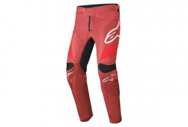 Pantalones Alpinestars Racer Burgundy Bright Red White 34