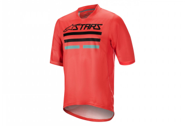 Alpinestars Mesa V2 Shorts Sleaves Jersey Bright Red