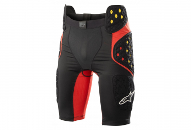 Sous-Short de Protection Alpinestars Bionic Pro Noir Rouge