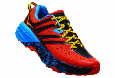 Hoka Speedgoat 3 Orange Bleu