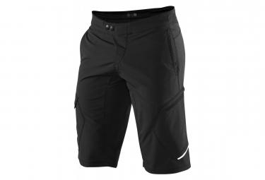 100% Pantaloncini Ridecamp neri