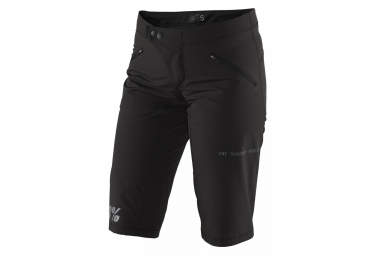 100% Ridecamp Womens Shorts Black