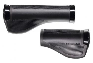 Poignées Bontrager Satellite Elite IsoZone 130/90mm Noir