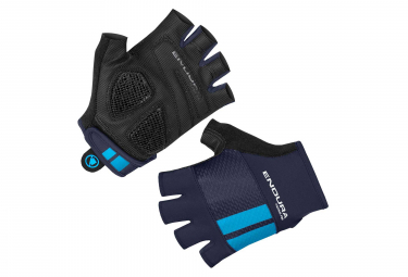 Endura FS260-Pro Aerogel Short Gloves Navy Blue
