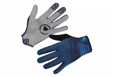 Endura SingleTrack LiteKnit Gloves - Bleu