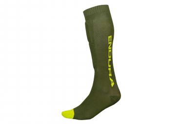 Paire de Chaussettes de Protection Endura SingleTrack Vert