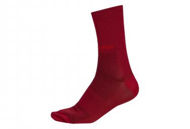 Paire de Chaussettes Endura Pro SL II Rouge