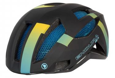 Endura Pro SL Road Helmet Black Blue Yellow