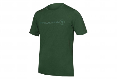 T-Shirt Technique Endura SingleTrack Merino Vert