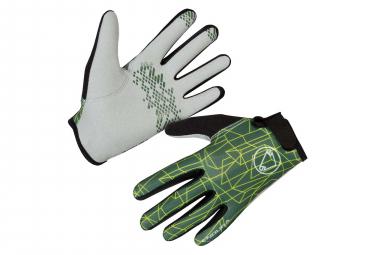 Endura Hummvee II Kid Long Gloves Green