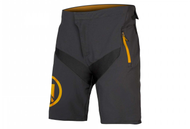 Endura MT500 JR II LTD Kid MTB Shorts with Liner Anthracite Grey