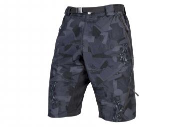 Endura Hummvee Ii Mtb Shorts With Liner Grey Camo S