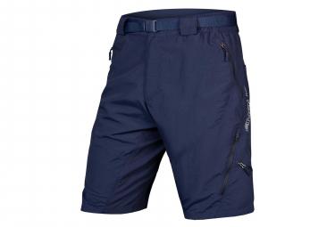 Shorts MTB Endura Hummvee II con fodera blu scuro