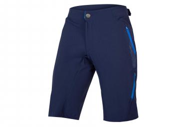 Pantalones cortos de MTB Endura SingleTrack Lite II sin forro azul marino