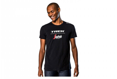 T-Shirt Trek by Santini Team Trek-Segafredo Black 2019