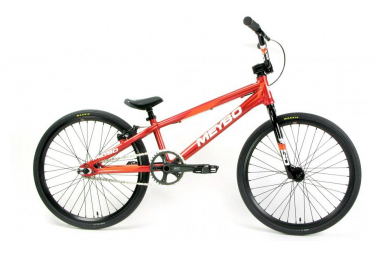 BMX Race Meybo Clipper Pro 21.75 Rouge / Blanc / Orange 2019