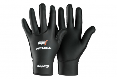 Trek by Santini Pair of Neoprene Gloves Team Trek Segafredo 2019