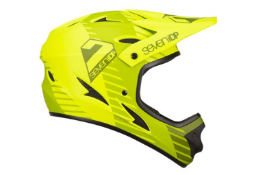 SEVEN M1 Full Face Helmet Tactic Green Lime/Olive 2019
