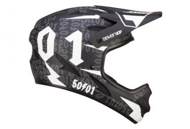 SEVEN M1 Full Face Kid Helmet 50:01 Black/White 2019