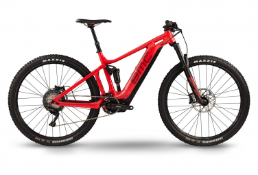 E-MTB Electrique BMC 2019 SpeedFox AMP Four Shimano XT 11V / Shimano STEPS E-7000 Red
