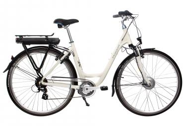 Bicicleta urbana híbrida Peugeot eC03 D7 Shimano Tourney / Altus 7S 700 mm Marrón / Negro 2019