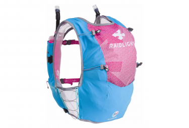 Raidlight Responsiv 10-12L Backpack Blue Pink