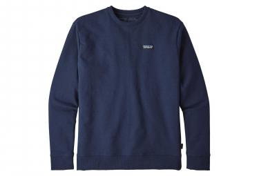 Patagonia P-6 Label Uprisal Crewweatshirt Navy