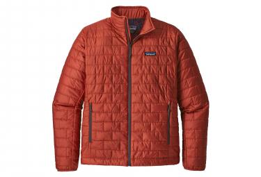 Patagonia Nano Puff Down jacket New Adobe Red