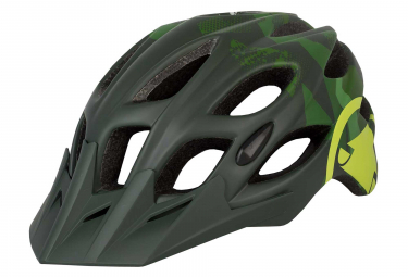 Endura Hummvee Kid Helmet Dark Green