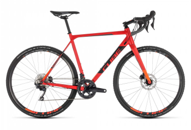 Cube Cross Race SL Cyclocross Bike Shimano Ultegra 11S 2019 Red Orange