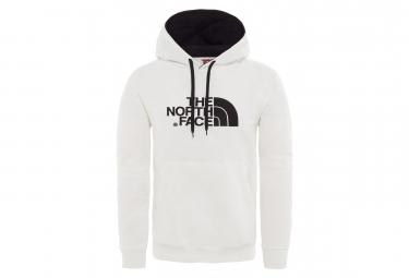 The North Face Hoodie Drew Peak White Black