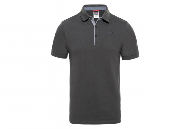 The North Face Polo Premium Piquet Gris Men