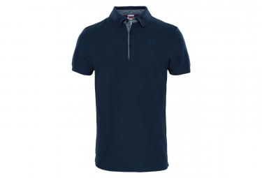 The North Face Polo Premium Piquet Blue Men