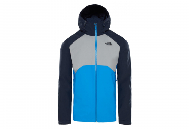 Chaqueta impermeable The North Face Stratos azul gris