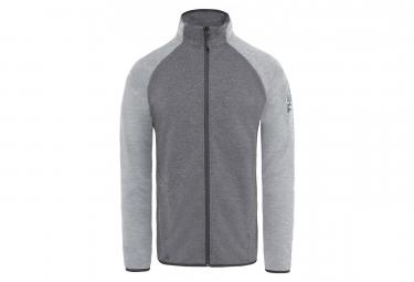 The North Face Fleece Zip Ondras II Grey