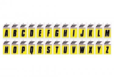 Lettres Pour Plaques BMX Forward Noir
