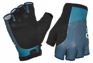 Poc Essential Road Light Short Gloves Antimony Blue Draconis Blue