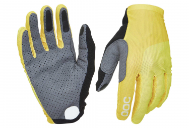Poc Essential Mesh Long Gloves Sulphite Yellow