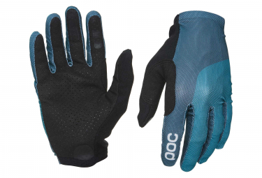 Poc Essential Mesh Long Gloves Antimony Blue