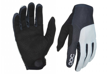 Poc Essential Mesh Long Gloves Uranium Black Oxolane Grey
