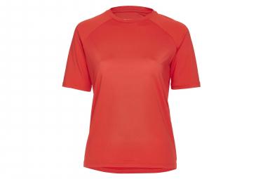 Poc Essential MTB Women Short Sleeves Jersey Prismane Red