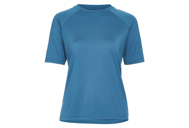 Poc Essential MTB Women Short Sleeves Jersey Antimony Blue