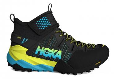 Hoka Outdoor Shoes Sky Arkali Black Yellow Blue Men